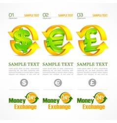 Money symbol infographic vector