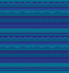 Blue stripe cute childish stripe seamless pattern vector