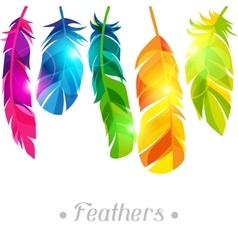 Colorful background with bright abstract vector image vector image