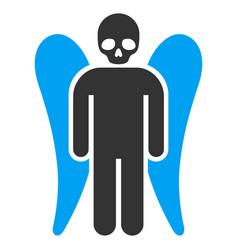 Death angel flat icon vector