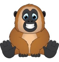cute monkey vector image
