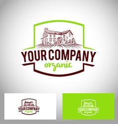 Farm company logo vector