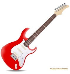 Electric guitar vector