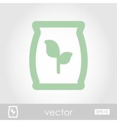 Fertilizer icon vector