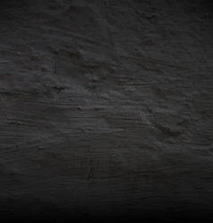 Black concrete wall vector