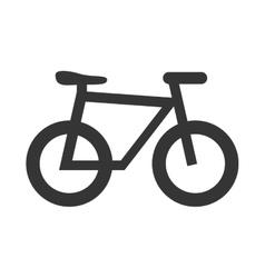 Bicycle sport theme design icon vector