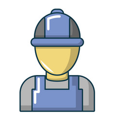 Auto car mechanic icon cartoon style vector