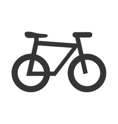 Bicycle sport theme design icon vector
