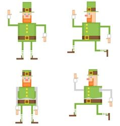 Irish leprechaun vector