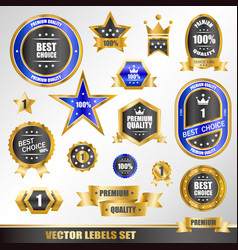 Set of gold labels vector