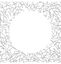 White circle lies on seamless pattern of random vector
