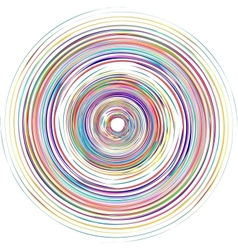 Color spiral vector