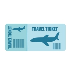 Ticket fly isolated icon design vector