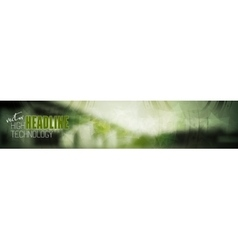Abstract technology industrial web header banner vector