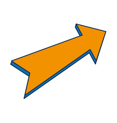 arrow icon image vector image