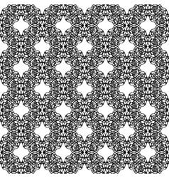 Black openwork pattern vector