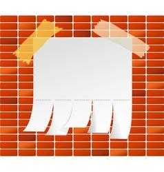 brick vector image