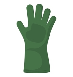 Glove icon Gardening design graphic vector image vector image