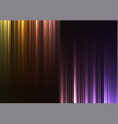 Rainbow upside down abstract bar line background vector