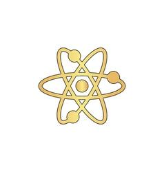 Atom computer symbol vector