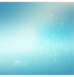 Virtual abstract background vector