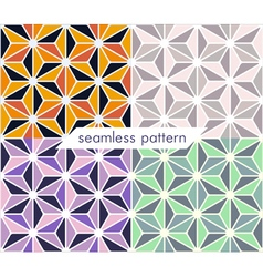Seamless pattern set 12 vector