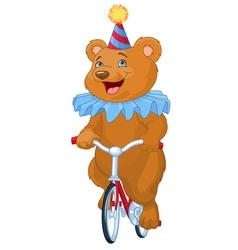 Circus bear vector