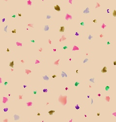 Colorful spotted background vector image