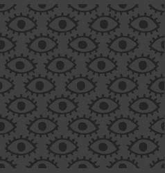 dark eyes background vector image