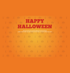 Happy halloween background collection style vector