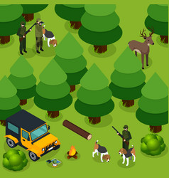Hunting isometric composition vector