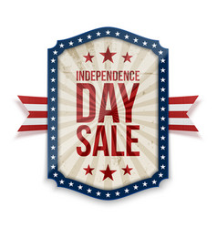 Independence day sale banner vector