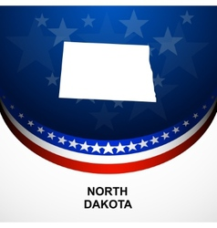 North dakota vector