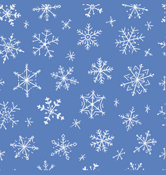 Snowflakes icons frozen frost star vector