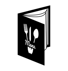 Menu resturant food vector