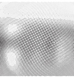 Abstract texture halftone vector
