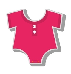 Baby wear suit vector