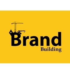 Brand branding building development vector