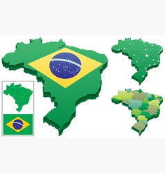 brazil vector image vector image