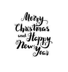 holiday christmas greetings vector image vector image