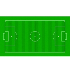 Textured grass soccer field football green field vector