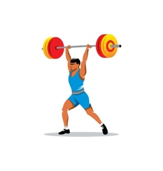 Weightlifting sign vector