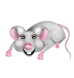 Mouse cartoon of a mouse vector image vector image