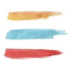 Watercolor blots vector