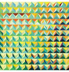 V 000182 Modern triangular pattern vector image