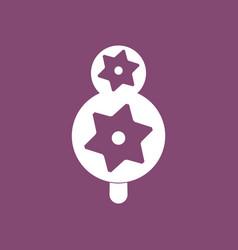 Icon eco tree with cogwheel vector