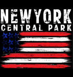 On the theme in new york city freedom stylized vector