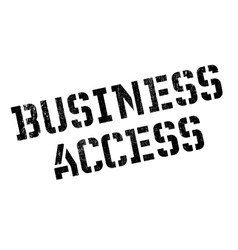 Business access rubber stamp vector