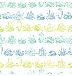 Blue green lineart stripes seamless repeat vector
