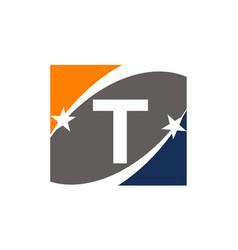 Success solution letter t vector